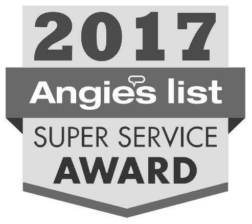 Angie's List Super Service Award to Mid-State for air conditioning in Nashville, TN, plumbing, heating and HVAC.