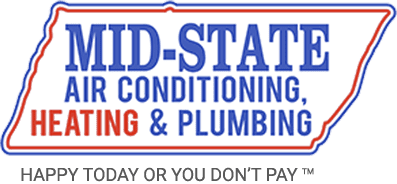 Mid-State Air Conditioning, Heating & Plumbing logo, air conditioning service in Nashville, TN, HVAC and HVAC financing.